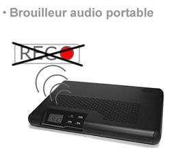 stop pub mac , BR-MIC - Brouilleur portable pour enregistreurs audio