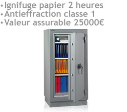 supprimer pub youtube - ARMOIRE-PDPF - Armoires ignifuges papier 2 heures