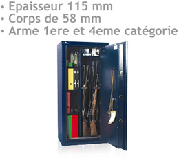 envoyer sms anonyme - COFFRE-FORT-830 - Coffre-fort modulable pour armes