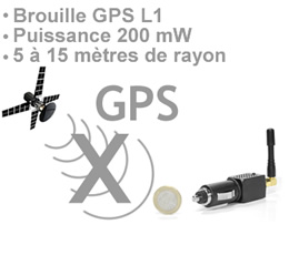 accepter les popups internet explorer | BR-GPS-ALL-200 - Brouilleur GPS allume cigare 200 mW