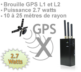 br gps 27 brouilleur gps fr quence l1 et l2 de 2 7 watts. Black Bedroom Furniture Sets. Home Design Ideas
