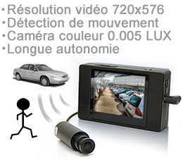 Camera anti vandalisme voiture