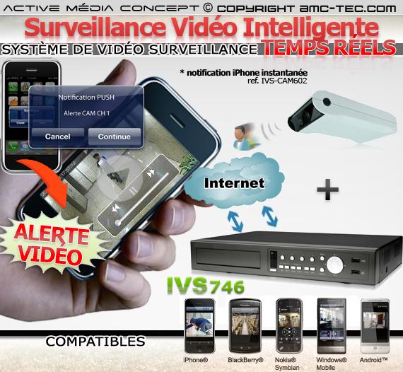 kit alerte94 kit de vid o surveillance alerte ivs 4 cam ras et un enregistreur. Black Bedroom Furniture Sets. Home Design Ideas