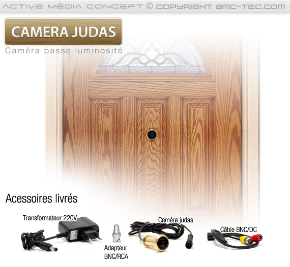 judas cam480 cam ra judas pour porte d 39 entr e. Black Bedroom Furniture Sets. Home Design Ideas