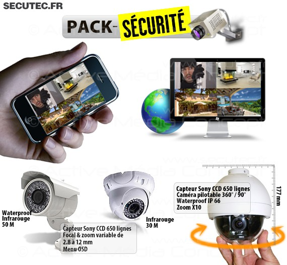 camera surveillance avec telephone