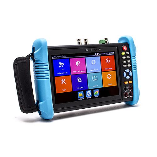 smartphone 5 5 pouces , T-7P-4K - Testeur et scanner de caméra 4K max avec écran tactile 7 pouces